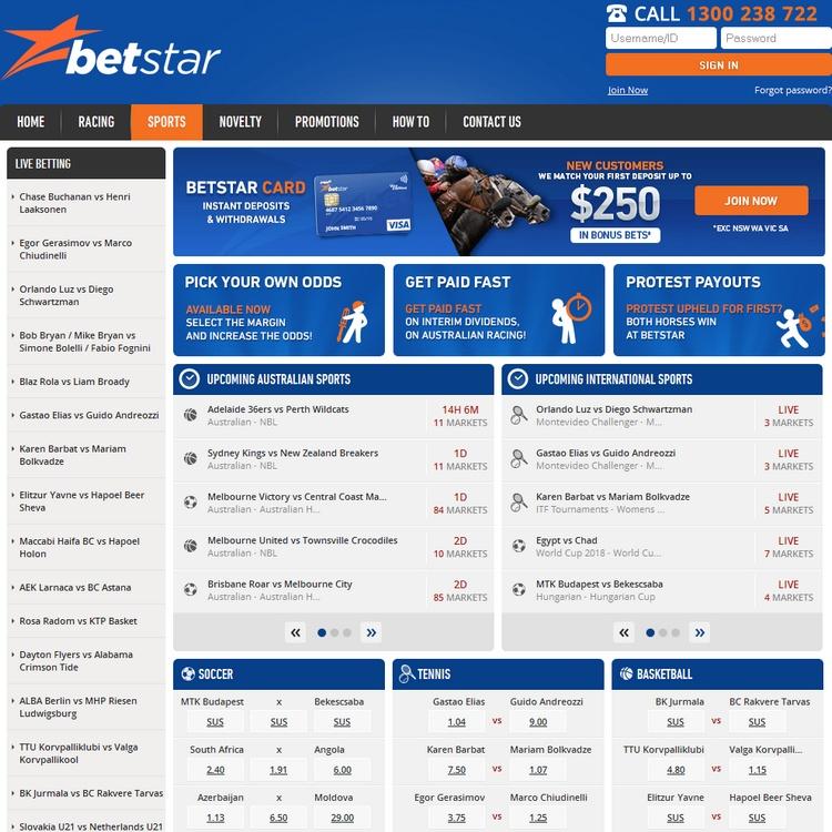 Betstar Offers