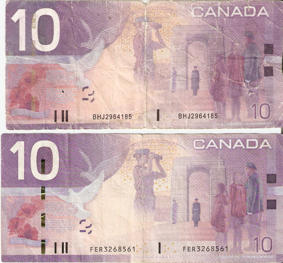counterfeit canadian money essay