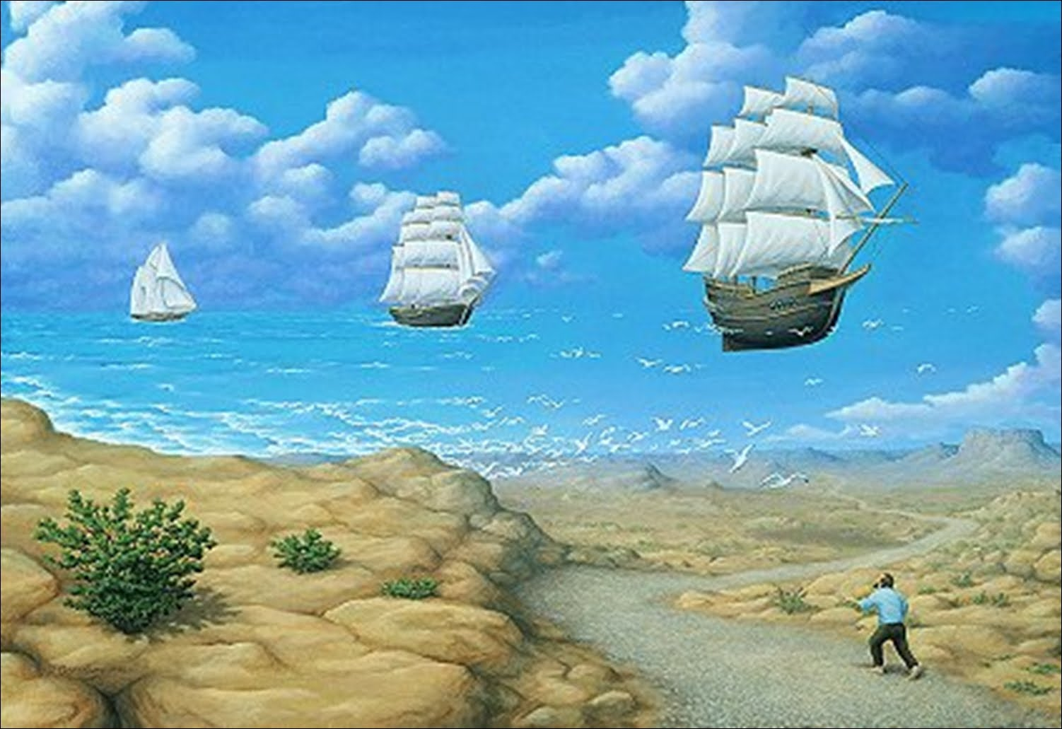 In Search of Sea Rob Gonsalves