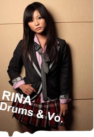 Rina Suzuki Drum and Vocal