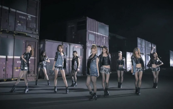 SNSD's - Bad Girl!