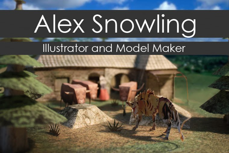 Alex Snowling: Illustrator and Model Maker