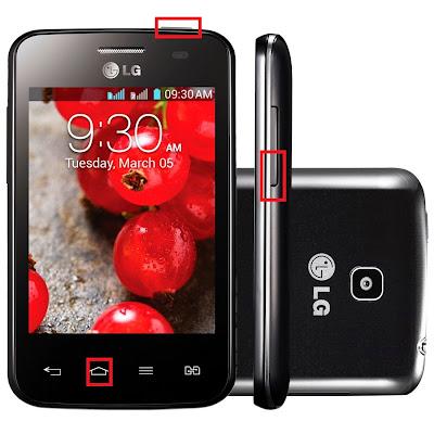 Como Resetar LG Optimus LE II E435 - Hard Reset