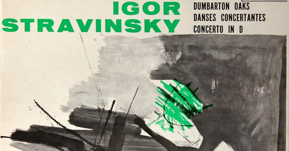 Stravinsky Colin Davis English Chamber Orchestra Cantata Mass