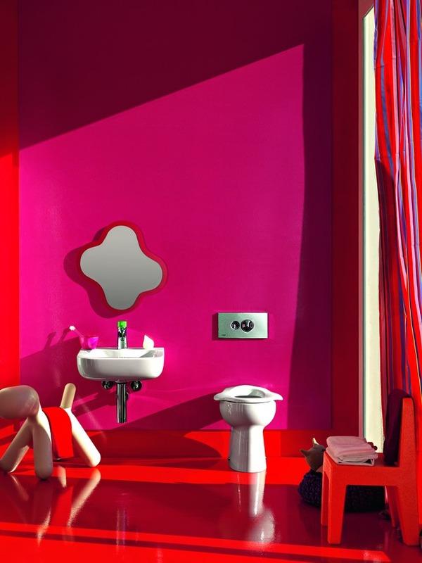 Baño De Una Guarderia:Marzua: Florakids: cuarto de baño para los más pequeños de la casa