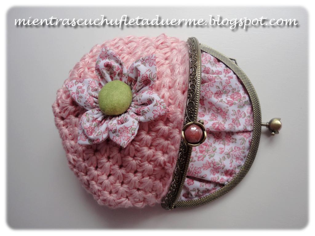 Crocheting Que Es : TUTORIAL DE UN MONEDERO A CROCHET Mientras Cuchufleta Duerme