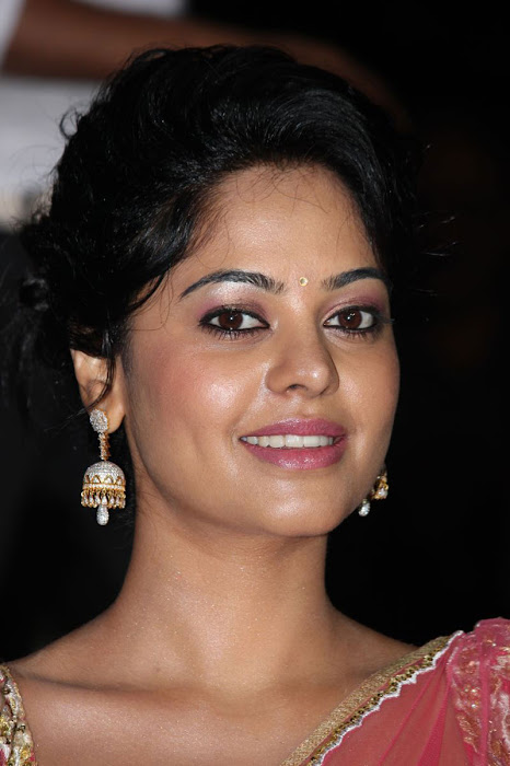 bindu madhavi new saree photo gallery