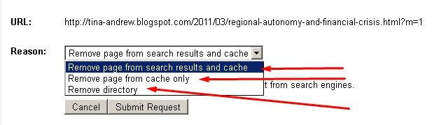 Bagaimana cara menghapus permanen Broken Links di Google Webmaster Tools