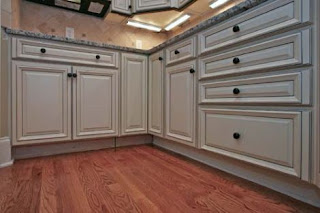 Glazed Kitchen Cabinet