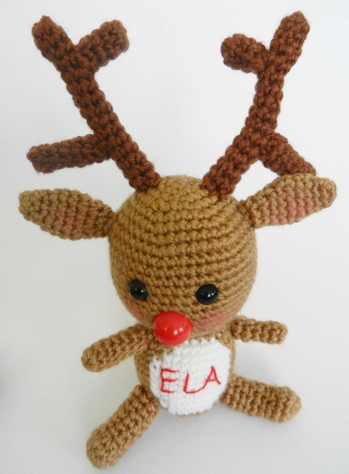 Yaseminkale: amigurumi reindeer & ?rg? oyuncak geyik:)