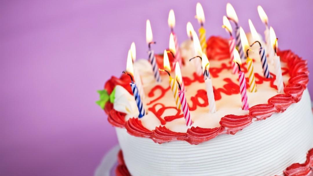 Свечи торт и цветы картинки 3
