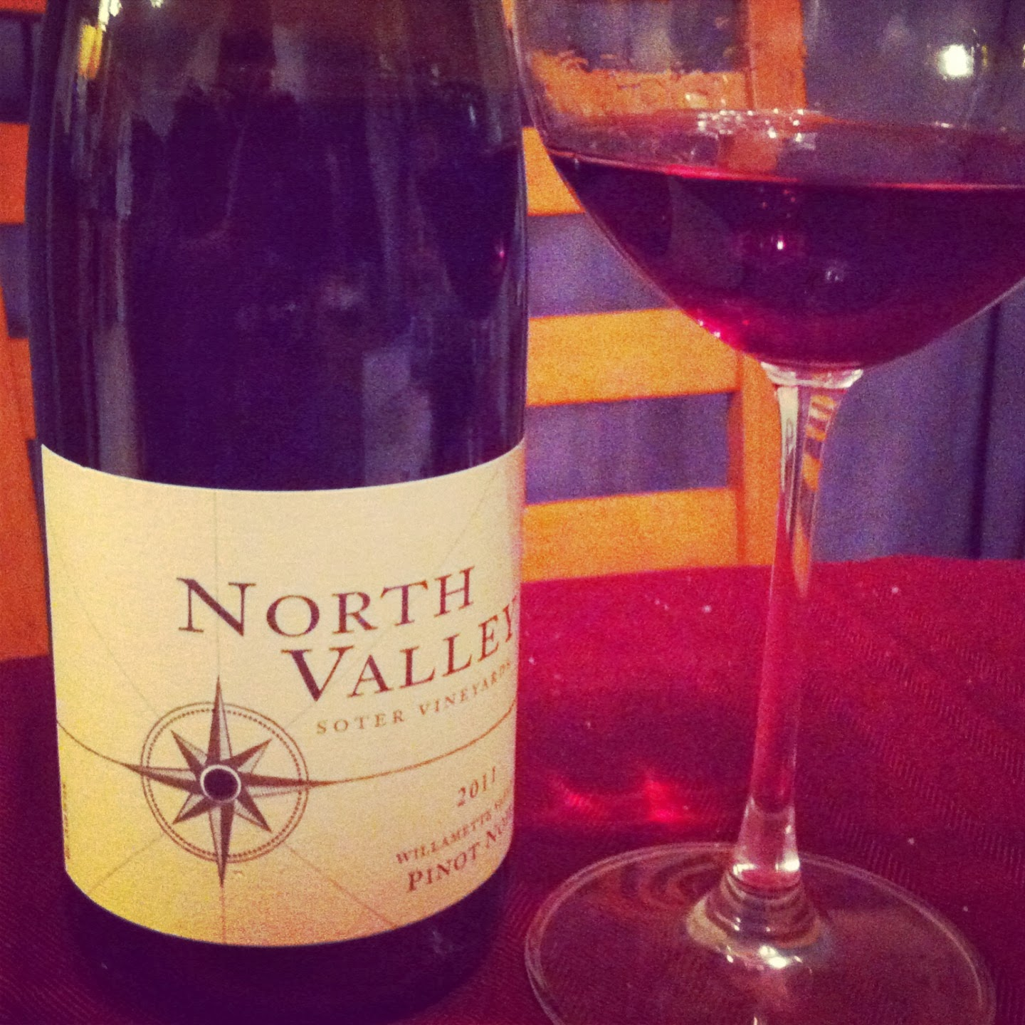 2011 Soter Vineyards North Valley Pinot Noir, a Cooking Chat #Wine of Note selection