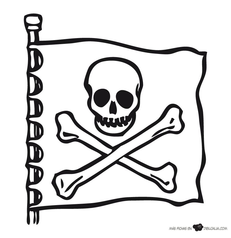 Dibujo pirata mujer - Imagenes de piratas infantiles ...