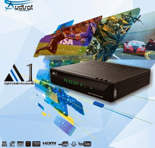 NOVA ATUALIZAÇÃO AUDISAT A1 HD IPTV  - V1.79 - 31/12/2014