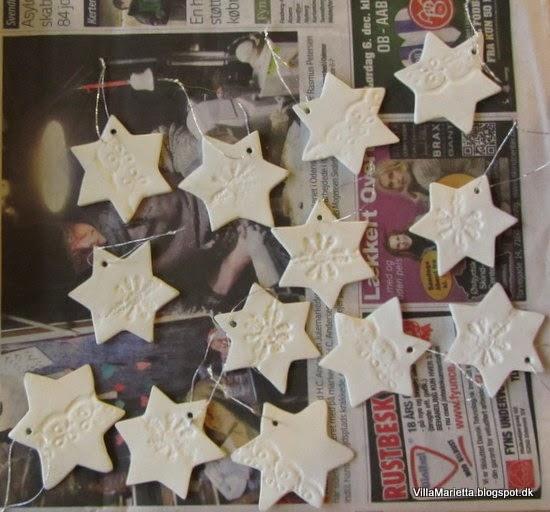 Julepynt - stjerner