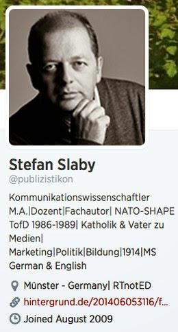 Stefan Slaby - Twitter-Profil