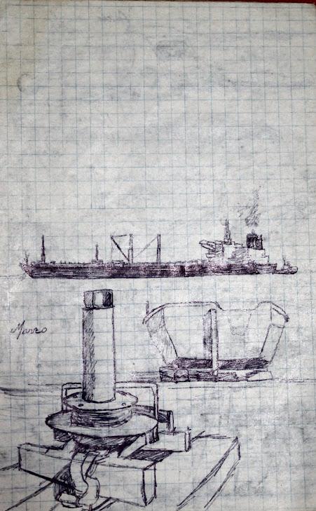 Tiro de barca moderno