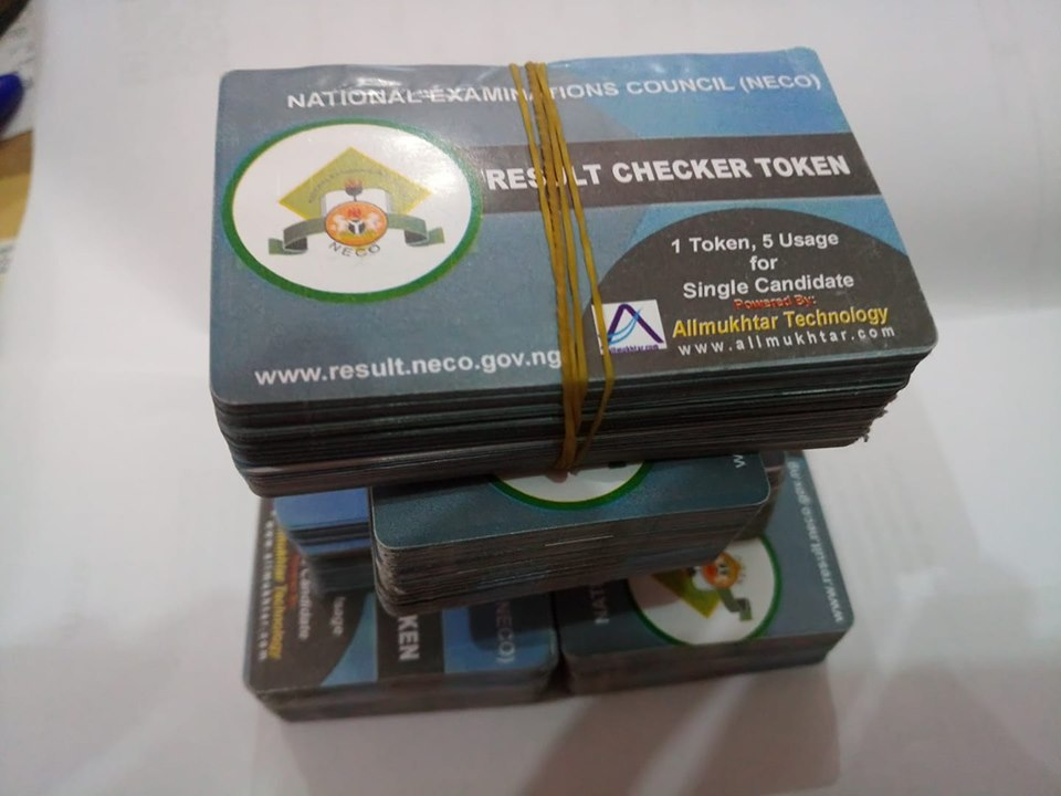 NECO TOKEN RESULT CHECKER CARD