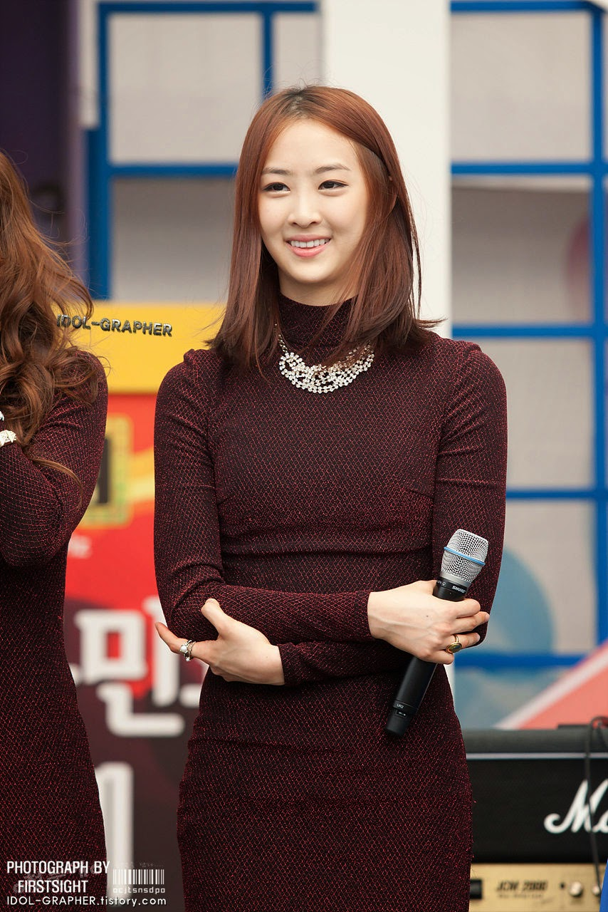 Sistar (씨스타) Dasom (다솜) - (1) - Beef day (2012) to announce the superiority of Korea Dairy Cattle Association on 09 June 2012