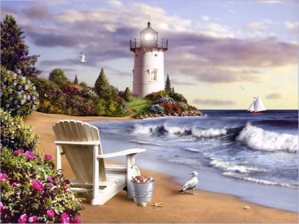 Il mondo di Mary Antony: Alan Giana - i paesaggi fiabeschi