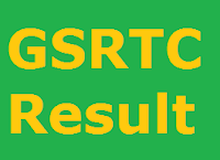 GSRTC Result