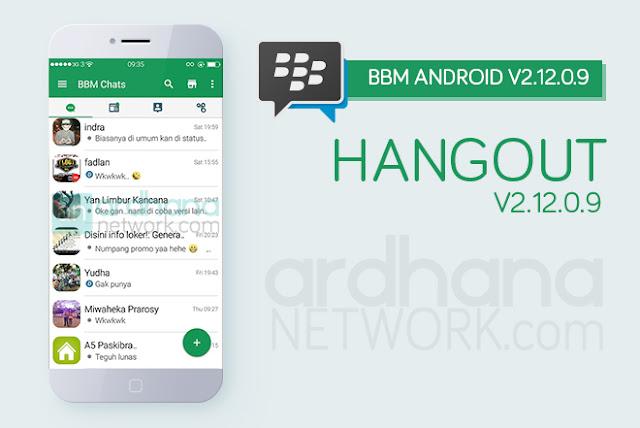 BBM Hangout V2.12.0.9 - BBM Android V2.12.0.9