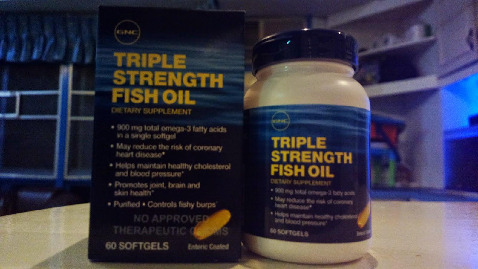 fish oil gnc