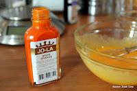 Eclairs met sinaasappelcrème
