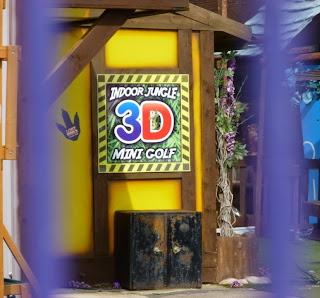Indoor Jungle 3D Mini Golf at the Lost World Adventure Park in Skegness