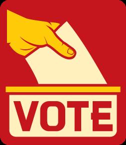 illustrasi gambar vote