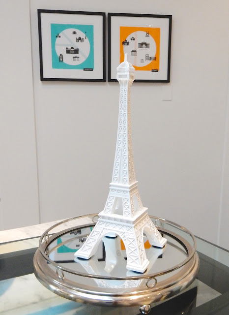 Tanya Heath Paris very cute Eiffel Tower Display