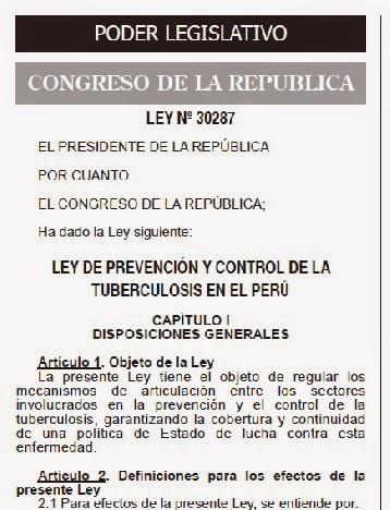 http://www.slideshare.net/alertomendoza/ley-30287-ley-para-la-prevencin-y-control-de-la-tuberculosis-en-el-per