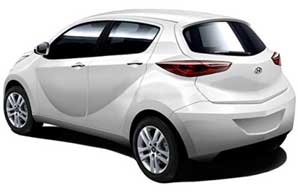 Hyundai Eon in White Color
