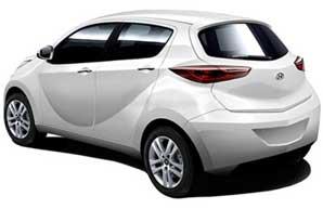 Hyundai Eon in White Color