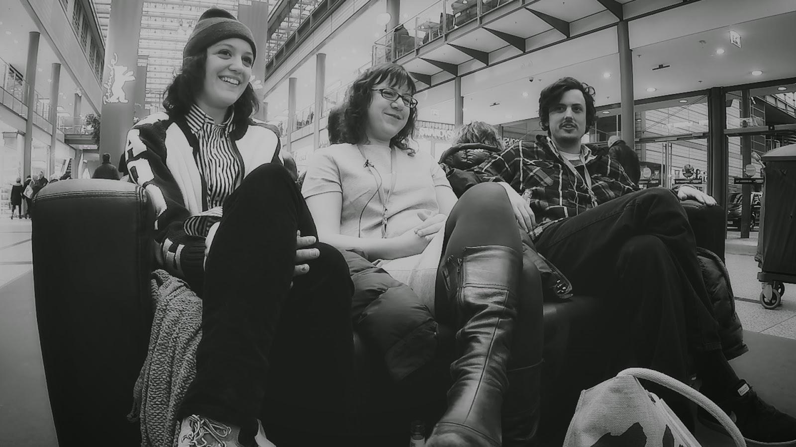 Eleanore Pienta, Joanna Arnow, Keith Poulson / Foto: Daniel Pook / Short-Talks.de