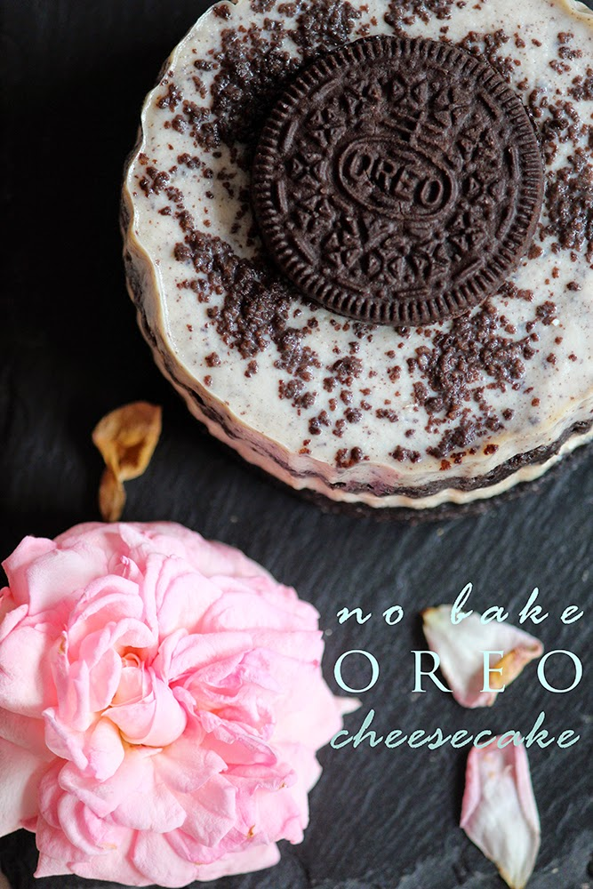 No bake Oreo cheesecake photo rebeca sendroiu