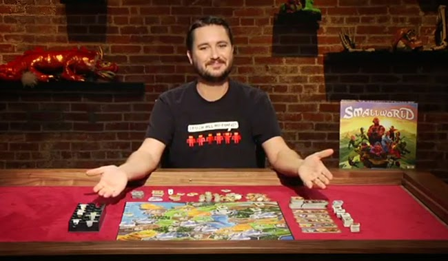 Will Wheaton hosting the Geek & Sundry show, TableTop