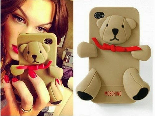 mode beauty fashion iphone 6 6 plus moschino teddy bear silikon tpu handyh lle nur in braun. Black Bedroom Furniture Sets. Home Design Ideas