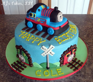 Cake Design Trenino Thomas : AJ s Cakes: Thomas The Train and Friends