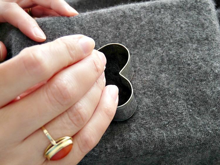 How to needle felt shapes