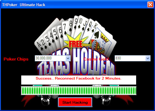 FREE UNLIMITED HACK ZYNGA POKER TEXAS HOLDEM CHIPS AND GOLD
