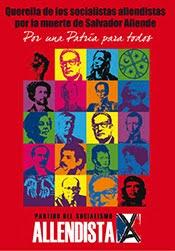 Querella por muerte del Presidente Allende