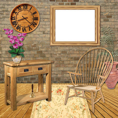 "Free scrapbook elements 1 ""Its all wood"" from Miriams-scrap"