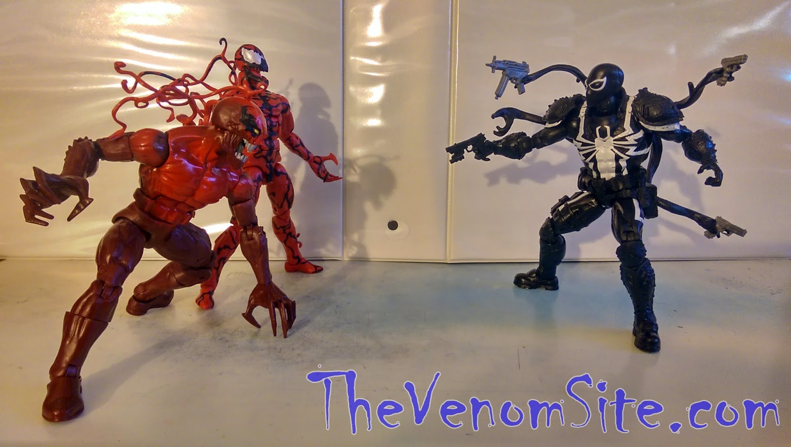 Collect all three Marvel Legends Infinite symbiote action figures online at eBay and Amazon