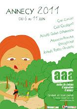 Affiche programme AAA festival