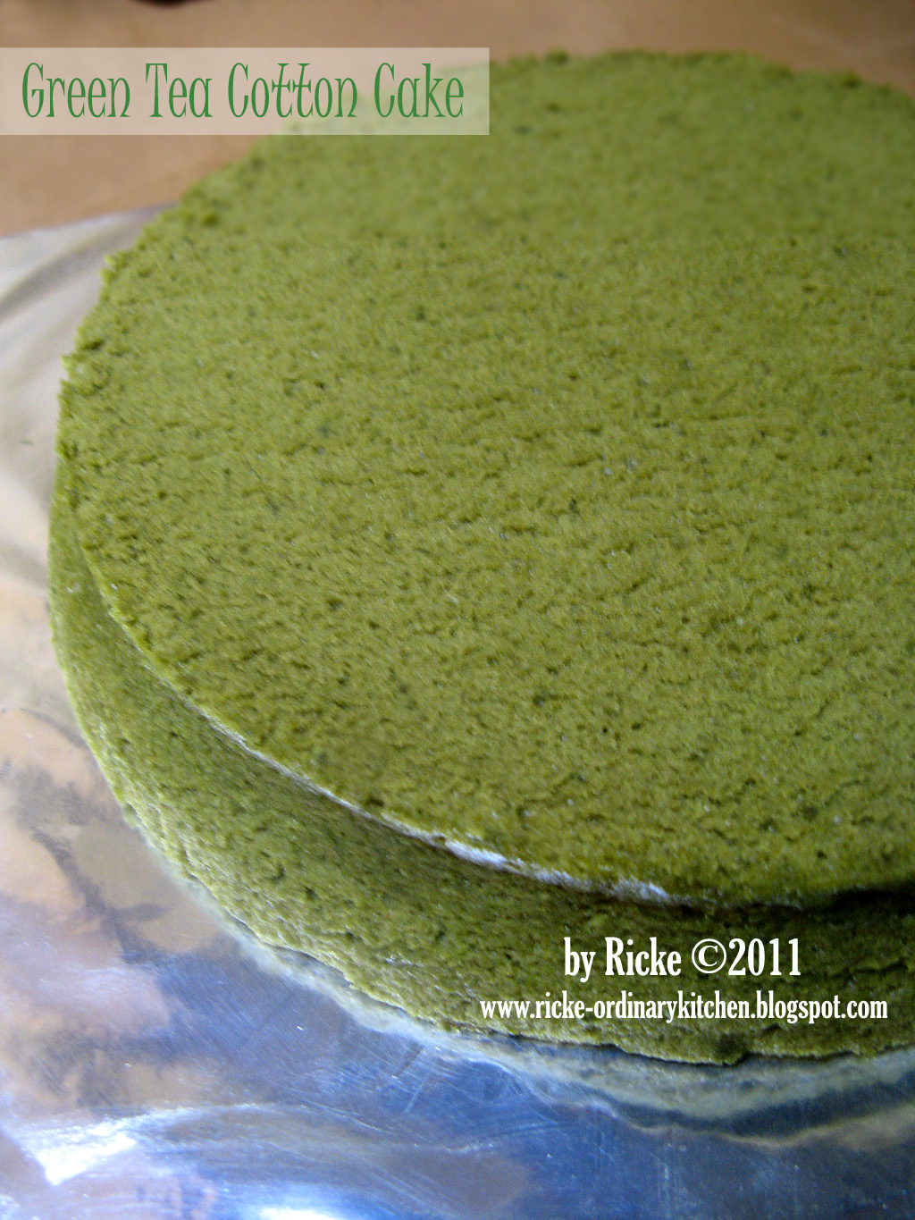just my ordinary kitchen lbt 7 cotton cake green
