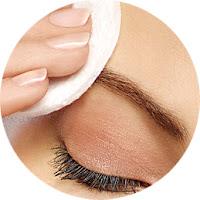 Remover maquilhagem de olhos