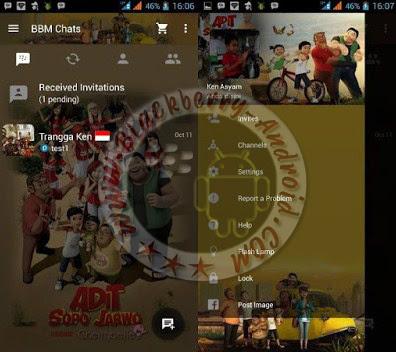 BBM Mod Tema Kartun Adit, Jarwo dan Sopo Terbaru v2.10.0.31 Apk