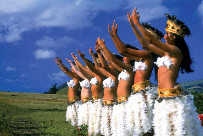 Bailes tipicos de Isla de Pascua