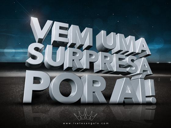 Na vida temos muitas surpresas, boas, ruins, inesperadas Temos que